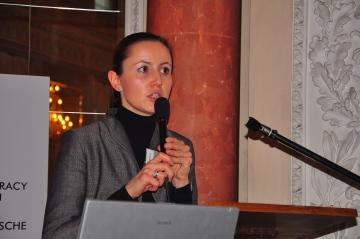 Katarzyna Bilewska von der Universität Warschau